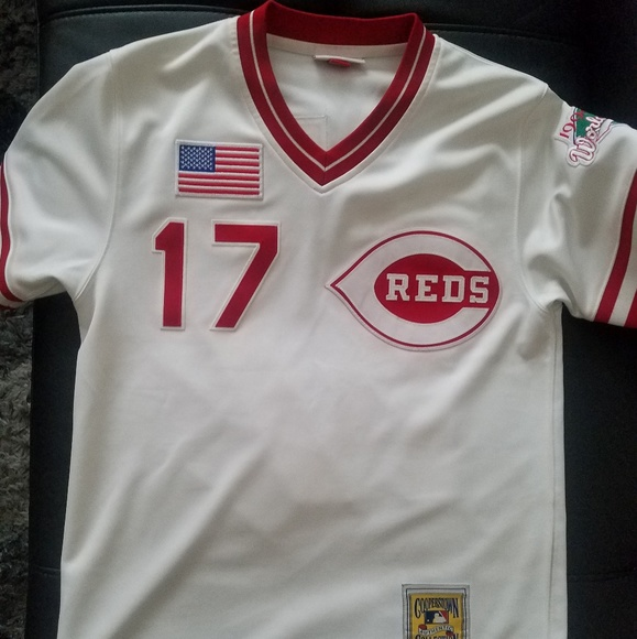 Men Authentic Mitchell Ness Chris Sabo